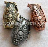 Wholesale Skull Grenade metal windproof lighter