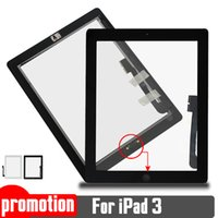 assemblies cable - for iPad High Quality New Touch Screen Glass Assembly Complete Replacement with Home Button Flex Cable
