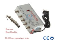 Wholesale 1 in out CATV Cable TV Video Signal Amplifier AMP Booster Splitter Broadcast Equipments