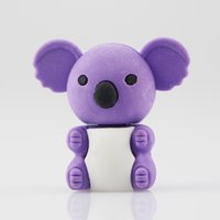 animal shaped erasers - Cute koala animal shape eraser and students and office supplies