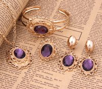 african beads - 18k Gold Full Jewelry Set Handmade African Beads Jewelry Set A1159PU