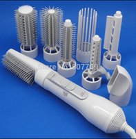 Wholesale Multi function electric hair dryer High power hair curler curling iron Pear flower head hair tools