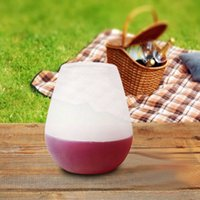 Wholesale 2016 Silicone Wine Glass Cups Unbreakable Stemless Rubber Beer Pool Outdoor Cup Glass HIGH QUALITY
