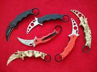 karambit - Best Quality edition Fox Knives Karambit Folder Knife C steel G10 handle Trainer Karambit TK tactical Pocket knife knives
