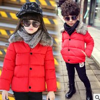 Wholesale new arrival boys girls winter coat kids clothes Jackets for girls boys fashion sports Down cotton jacket children clothing