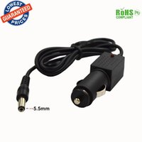 Wholesale Universal laptop With IC security car charger DC mm plug power adapter