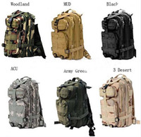 Backpacks Women Casual 30L Outdoor Sport Military Tactical Backpack Molle Rucksacks Backpack Molle Rucksacks Camping 30pcs Free shipping (DY)