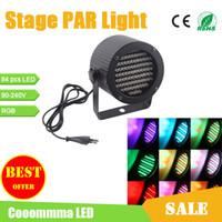 Wholesale PAR Cans Lights With Channel DMX Control W AC110 V LEDs PAR Light For Disco Pub Club Concert Wedding Party