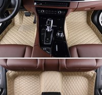 Wholesale Good quality Custom special floor mats for Audi A6 waterproof wear resisting Easy to clean carpets for A6