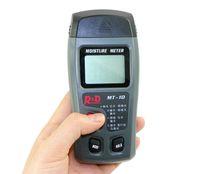 Wholesale 2015 New arrival Pin Integrated LCD Digital Wood Moisture Meter Tester Timber Damp Detector