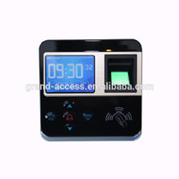 Wholesale Biometric Fingerprint Access control and time attendance terminal color screen small size