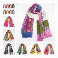 Wholesale 2014 New Wraps brand Desigual all match comfortable design Pashmina long silk scarf Large Scarf Shawl CM