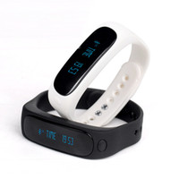 better homes - New Arrival E02 Smartband Smart bracelet Wristband Fitness tracker Bluetooth fitbit flex Watch for ios android better than mi band