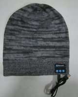 Ear Muff adjustable earmuffs - 2015 winter knitting bluetooth beanie hat bluetooth audio earmuffs
