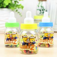 best nursing bottles - Frist shop set nursing bottle eraser set Despicable Me cartoon Nursing bottle Best gifts for kid s