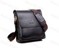 Wholesale hot sale men bags men genuine leather messenger bag high quality polo bag fashion men s travel bags