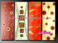 abstract painting videos - Winter Yun home decorative painting hand painted abstract sets Videos living room decorative painting frameless paintin