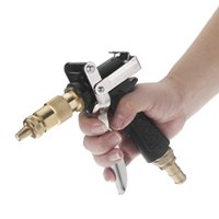 pressure washer - Brass Hose High Pressure Water Gun Cleaner Squirt Adapter for Auto Car Vehicle Washing
