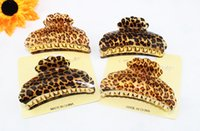 Wholesale 2014 new Leopard hot sale hair jewelry hair claw large clip cm