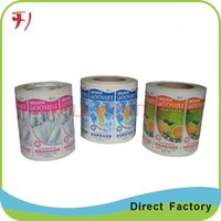 Wholesale Customized printing cosmetic jar labels