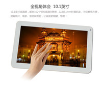 Wholesale 10 inch A33 Quad core GHz Tablet pc GB GB Android pixels Kitkat WIFI Dual Camera Bluetooth OTG Tablets