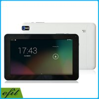 Wholesale 9 quot Tablets Android Tablet PC inch A33 Quad Core GB ROM Capacitive Screen WIFI Dual Camera OTG G SENSOR Bluetooth A31S A23