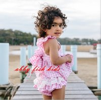 big dress pants - 2015 NEW ARRIVAL baby girl kids piece set big bowknot vest shirt tops tanks dress lace ruffle shorts short pants bloomers cute suits set