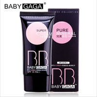 baby mineral water - Hotsale Brand BABY GAGA Pure Mineral BB Cream Women Beauty Makeup Brighten Concealer Nutritious Cosmetics High Quality Color