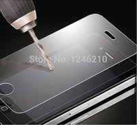 Wholesale by DHL new Shock proof Explosion proof Screen Protector Protective Film For iPhone S With Retail Package