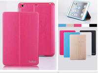 auto screen printing - DHL leather smart auto wake sleep folio flip case cover for iPad mini ipad2 ipad Air