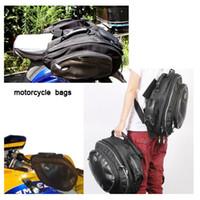Wholesale Genuine TMB08 TANK motorcycle waterproof saddlebag saddle bag backpack can put full face helmet