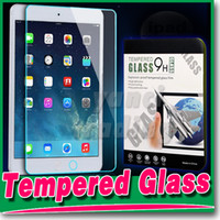 Wholesale For Ipad Mini MM H Tempered Glass Screen Protector For Tab4 T330 T530 iPAD Air Protector Film Treated Glass with retail Package