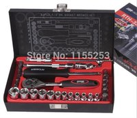 auto paint cleaner - Hong Kong flying deer Auto Repair Auto Repair Tool Set Auto insurance ratchet socket wrench socket set order lt no track