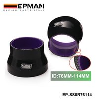 Wholesale EPMAN High Quality quot quot mm mm INCH PIPE TURBO SILICONE PLY REDUCER HOSE BLACK EP SS0R76114