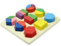 Wholesale Educational toys geometry teaching aid toy wooden toy block