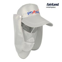 Wholesale 2pcs UV Protection Hollow Fishing Cap w Removable Neck Cape Jungle Fisherman Cap Breathable Face Cover Bucket Hat