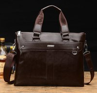 Wholesale Hot Mens Soft and Waterproof Messenger Bag Men Bag Hands Fashion Mens PU Leather and Laptop Bag