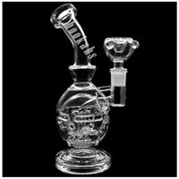 Wholesale 2016 New Glass Bong Faberge Egg inch Water Pipes Glass Bongs Oil Rigs MM