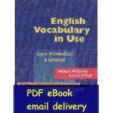 advance intermediate - English Vocabulary in Use Upper intermediate amp advanced