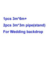 Wholesale 1pcs m m m m pipe stand For Wedding backdrop