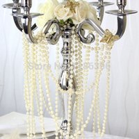 angels favor - 10Meters roll mm Pearl Spray Strands Garland Spool Bridal Beads String Wedding Christmas Party Centerpiece Favor Crafting Decor