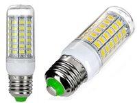 Wholesale High Power E27 SMD W LEDs LEDs Lamp Corn Light Bulb Spotlight AC V V Cold warm white