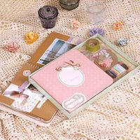 baby scrapbook kits - 4pcs Scrapbook Diy Photo Album for Baby Wedding Scrapbook Kit home decoration scrapbooking products album de fotos k520
