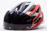 bicycle safety wear - Top Quality Sahoo Professional Mountain Bicycle Helmet Safety Cycling Helmet Eye Wear Goggles Colors EPS PC