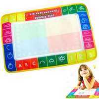 baby magic products - by DHL or EMS pieces Baby Kid Water Drawing Mat Aqua Doodle Child Painting Writting Board with Magic Pen Kindergarten Toy