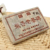 al por mayor puerh edad-250g 1990 envejecido Yunnan Jingmai Envejecido Jujube Aroma Puer Puer Puerh maduro ladrillo té para bajar de peso Productos Envío Gratis pedir $ 18Nadie pista
