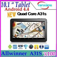 Wholesale 10 inch AllWinner inchQuad Core tablet pc WIFI Bluetooth G RAM G ROM Tablet pc Android HDMI YX MID