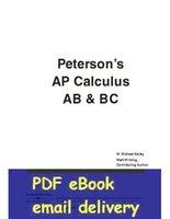 ap calculus - Master the AP Calculus AB amp BC st edition Peterson s AP Calculus AB amp BC