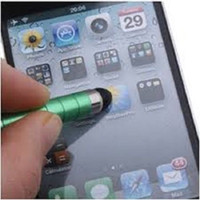 Wholesale Styluses Cell Phone Stylus Pens MINI Universal Capacitive Stylus PEN for ALL Mobile Phones Tablet Ipad Touch Cell Phone Accessories Bullet