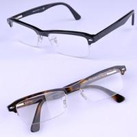 acid acetic - 7014 frame optical eyeglass Acetic acid material frame men and women glasses vintage big shortsightedness frame reading optional frame frees